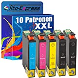 PlatinumSerie 10 Druckerpatronen XXL TE2991-TE2994 29XL kompatibel für Epson Expression Home XP-235 245 247 255 257 332 335 342 345 352 355 432 435 442 445 452 455 | Black je 18ml, Color je 15ml