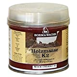 Luxus Pur UG Polyester Spachtelmasse Transparent Holzkitt 2K Spachtel 125 ml Holz Antikmöbel Reparatur
