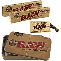 Raw Set di 4 pezzi, composto da2 confezioni di cartine