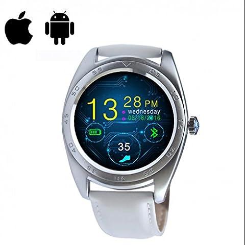 SmartUhr herzfrequenz Watch Phone alarm clock Intelligente Uhr Schrittzähler Sportelektronik Smartwatch Armbanduhr für IOS Android