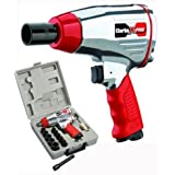 Clarke International CAT142 X-Pro - 14 Piece 1/2 inch Compact Air Impact Wrench Kit
