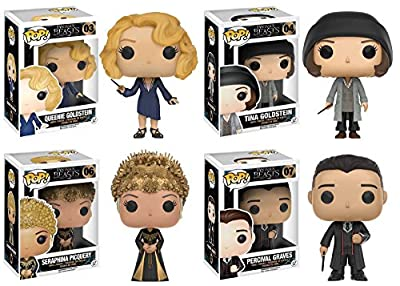 Funko POP! Fantastic Beasts: Queenie Goldstein + Tina Goldstein Vinyl Figure NEW