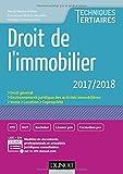 Droit de l'immobilier 2017/2018...
