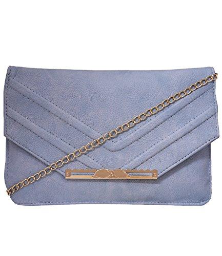 Fristo Women's Slingbag(FRSB-099)Sky blue