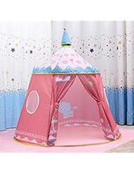 LD-Tiendas de juegos para niños Gran Yurt Princess Castle , tent + coral velvet pad