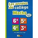 Les Années de Collège Maths Tout pour Réussir - Nouveau programme 2016