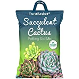 TrustBasket Succulent and Cactus Potting Soil Mix - 5 KG