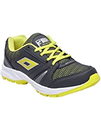CF_Better Deals Mens Synthetic Mesh Grey Green Coloured Sports Shoe| Running Shoes| Pro Running Shoes| Sprint... - B076CP68M1