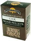 Charcoal Companion Eiche Smokehouse-Style Wood Pellets, Natural, 10x6x14 cm