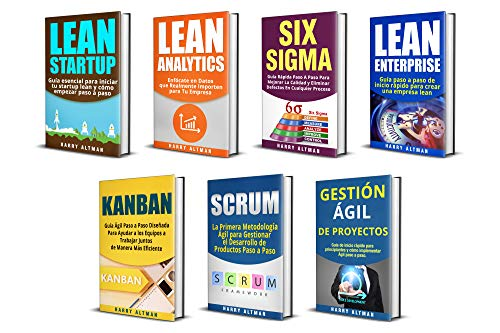 LEAN: 7 Libros - Lean Startup, Lean Analytics, Lean Enterprise ...