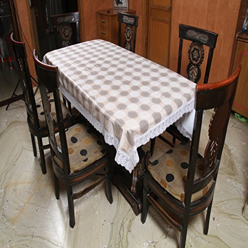 Freely Print Dining Table Cover For 6 Seaters  available at amazon for Rs.599