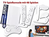 MGT Mobile Games Technology TV Videospiel Konsolen: Interaktive TV-Spielkonsole GP-480sports: 48 Games & 2 Controller (Spiel-Konsole)