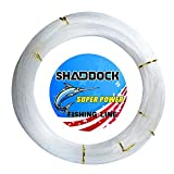 Shaddock Fishing Nylon Monofile Angelschnur Seil 500M 0,3mm-2,0mm Super Starke Nylon Monofil Speer Angelschnur Speargun Linie für Salzwasser/Süßwasser Angeln(Clear,Wire Diameter:1.5MM)