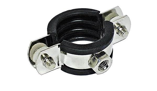 Rohrschelle Spannschelle mit Gummieinlage EPDM DIN 4109 verzinkt kaufen