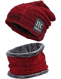 c2c993fa62fff Amazon.es  gorros lana hombre - Set de bufanda