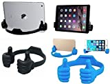 Suryodayam Ok/Thumbs Up Universal Flexible Mobile Stand/Holder (Pack of 2) Colors May Very