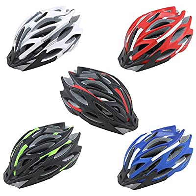 Lamptti Bicycle Helmet, Light Weight Cycle Helmet for Bike Riding Safety, Mountain Road Bike Helmets for Men and Women, 52-58 cm from Hjuns®