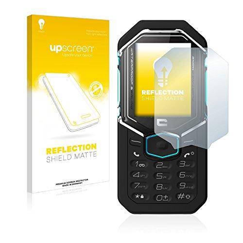 upscreen Matt Schutzfolie kompatibel mit Crosscall Shark X3 – Entspiegelt, Anti-Reflex, Anti-Fingerprint