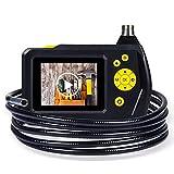 db DBPOWER 2,7 Zoll Farb-LCD-Bildschirm Endoskop Inspection Schlange-Kamera mit 3M-Schlauch, der Zoom-Funktion, 360 Grad-Umdrehung und DVR Digital Video Recording