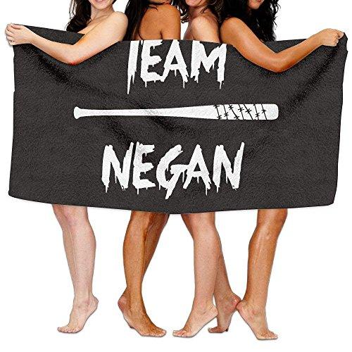 KCOUU Team Negan Toalla de Playa Unisex con impresión Personalizada