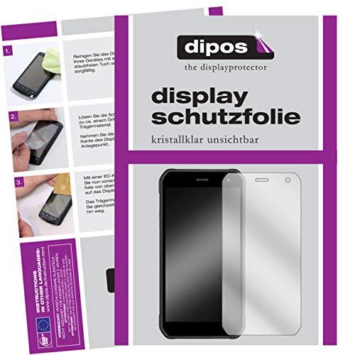 dipos I 6X Schutzfolie klar passend für Cyrus CS 40 Freestyle Folie Displayschutzfolie