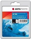 AgfaPhoto Tintenpatrone schwarz kompatibel zu HP350 (CB335EE) geeignet für HP Officejet J6400