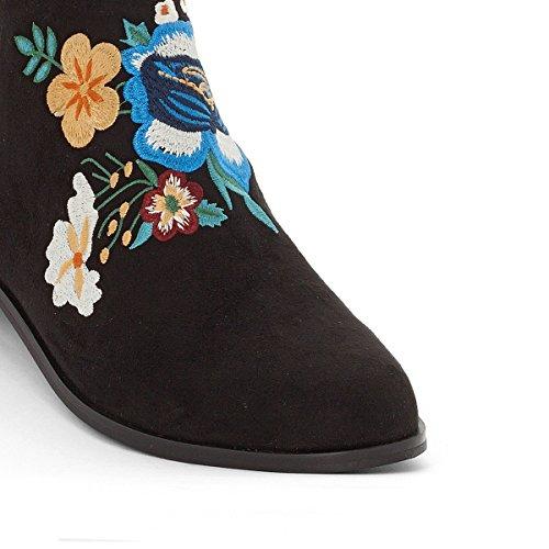 La Redoute Mademoiselle R Donna Boots Ricamati Nero