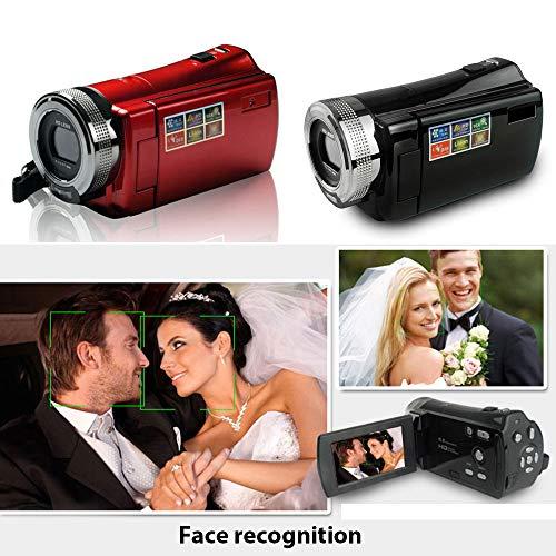 Springdoit-Fotocamera-digitale-con-zoom-Macchina-fotografica-digitale-DV-1080p-Obiettivo-HD-CMOS-da-27-pollici-portatile-DVR-esterno-nero