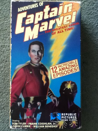 Preisvergleich Produktbild Adventures of Captain Marvel [VHS] [UK Import]