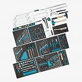 Hazet Werkzeug-Sortiment 0-2700-163/229 Werkzeug-Set, Anzahl Werkzeuge: 229