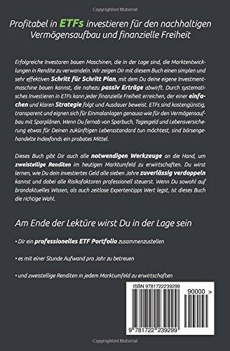 ETFs - Der einfache Weg zum Reichtum: Schritt für Schritt Investieren für den nachhaltigen Vermögensaufbau und finanzielle Freiheit (inkl. Sparplan und Beispiel Portfolios!)
