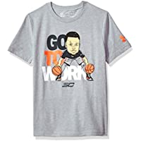 Under Armour SC30 Go To Work SS T Camiseta de Manga Corta, Niños, Gris (035), M