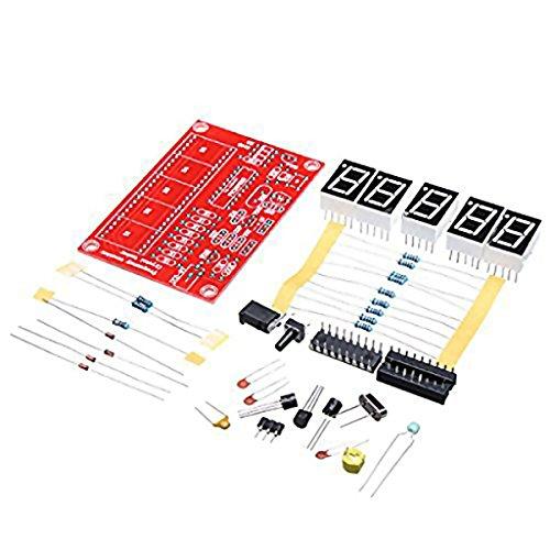 MagiDeal 1Hz-50mhz Frequenzmesser Frequenzzähler Zähler Mess Tester Modul (Stück-zähler 9)