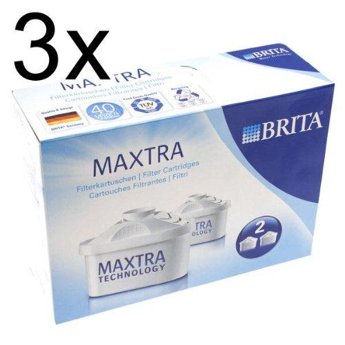 Brita Filterkartuschen Maxtra, 3 x 2er Pack