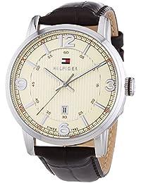 Tommy Hilfiger Herren-Armbanduhr Analog Quarz Leder 1710343