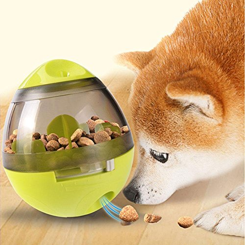 1d733415cf IQ Trainieren Hundenapf , GINKAGO® Haustier Spielzeug Futternapf Pet Food  Ball Futter Aktivität Treat Ball