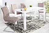 Chaise design Kalia - café - Par 4