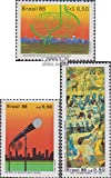 Prophila Collection Brasilien 2182,2183,2184 (kompl.Ausg.) 1986 Gastroenterologie, Rundfunk, Friede (Briefmarken für Sammler)