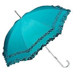 Idea Regalo - VON LILIENFELD® Ombrello Parasole Sposa Automatica Donna Mary verde smeraldo