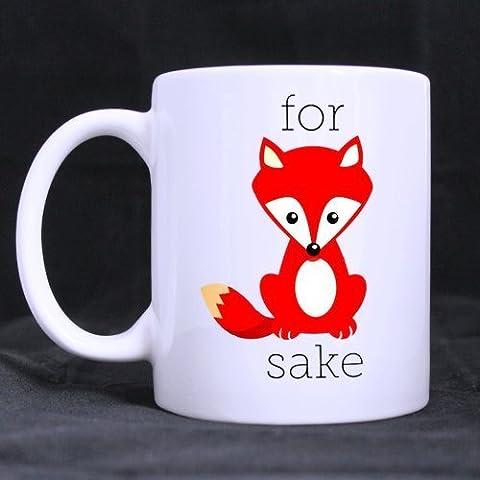 Volpe per Sake in ceramica tazze per bambini ragazzi ragazze regalo di compleanno regali di Natale - Drink Sake