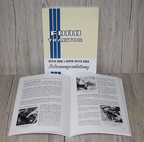 Preisvergleich Produktbild Betriebsanleitung Schlepper Dexta 2000 und Super Dexta 3000