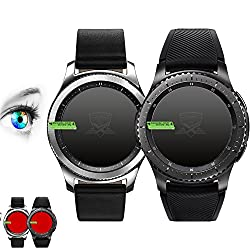 3X Proto Max Screen Protector For Samsung Galaxy Gear S3Classic Gear S3Frontier Protector Screen Protector Accessories Smart Watch Wearable Fitness & Wellness Activity Tracker–Pack Of 3