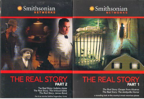Smithsonian Networks Real Stories Box Set : 5 Episodes - True Stories of Indiana Jones , the Untouchables & Al Capone , James Bond , Escape From Alcatraz , and the Amityville Horror - 232 Minutes (Box-set-dvd-james Bond)