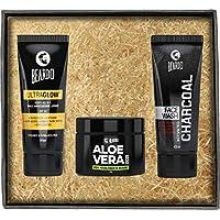 Beardo Aloe Vera Face Glow Combo, Set of 3
