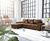 DELIFE Couch Panama Braun Longchair variabel Ecksofa Modular