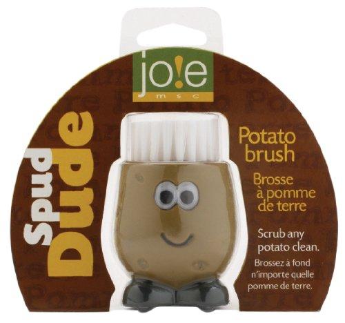 Joie Spud Dude Kartoffel-Bürste, Braun/Schwarz Internationalen Kartoffel