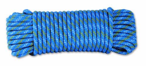Chapuis DR60 Geflochtenes Polypropylen-Seil - 450 kg - Durchmesser 6 mm - Länge 15 m - Blau