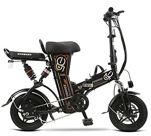 BYYLH Bicicletta Elettrica Pieghevoli Pedalata Donna/Uomo Bicicletta E-Bike