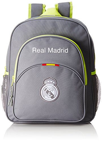 Safta Real Madrid 611554640, Mochila Hombre Tipo Casual, Gris, 20 litros