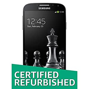 (CERTIFIED REFURBISHED) Samsung Galaxy S4 GT-I9500 (Deep Black)